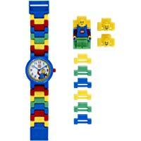 LEGO Classic 8020189 Orologio da polso componibile per bambini con cinturino a maglie e minifigure: Lego: Amazon.it: Orologi