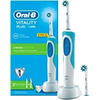 Oral-B Vitality Plus CrossAction Spazzolino Elettrico Ricaricabile: Amazon.it: Salute e cura della persona