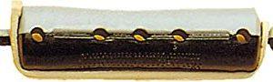 Fripac-Medis - Bigodino per permanente LW 1K, modello corto, 10 pezzi, diametro: 16 mm, colore nero-grigio