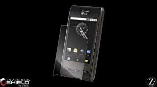 invisibleSHIELD - Pellicola protettiva per LG Optimus P990 Speed