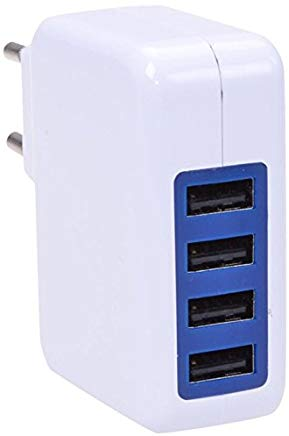 Filmer 20874 USB Adattatore CA 240 V 4 X USB