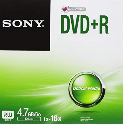 Sony Dvd+r DPR47SJ Jewel CASE 16X - Confezione da 1
