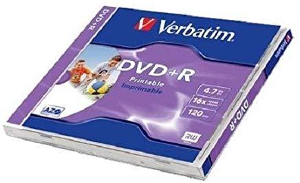 Verbatim Dvd+r 4.7GB Datalife PLUS - 1 pezzo