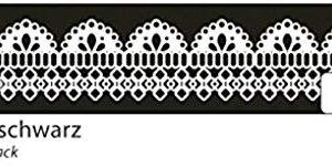 Folia Washi Tape - craft tapes (Black, White, Pattern, Paper, Matte, Removable, Fabric, Glass, Metal, Paper)