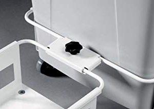 Durable 1801664010 Connettore Modulare per Carrello, Bianco