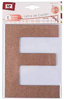 MP pd219-e - Lettera grande di Carton, 16.5 cm