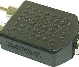 InLine 20026 Adattatore Audio, Nero
