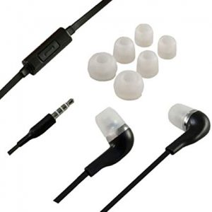 Dolce Vita 3,5mm In-Ear Super Bass Stereo Headset - White nero