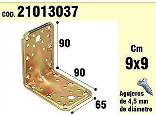 WOLFPACK 21013037 - Supporto per il legno, angolo di 65 x 90 x 90-2.5