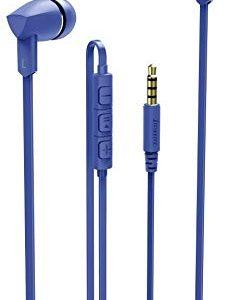 Hama Basic+ Auricolare Stereofonico Cablato Blu auricolare per telefono cellulare