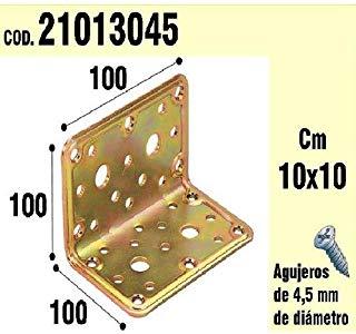 Wolfpack 21013045 - Supporto per il legno, angolo di 100 x 100 x 100