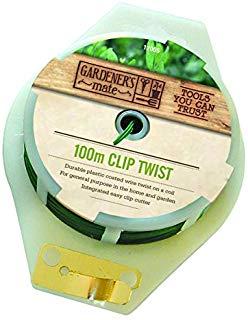Gardman 12005 Clip Twist Filo, 100 Metri