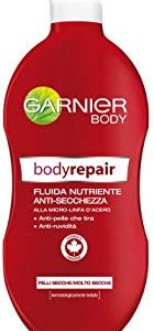 Garnier Bodyrepair Fluida Nutriente Anti-Secchezza, 400 ml