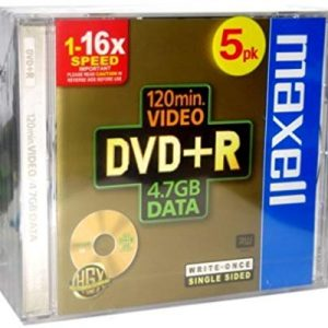 Maxell Dvd+R 4.7Gb 16X Jewell C. Conf.5