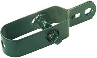 GAH-Alberts 611170 -Tendifilo zincato, ricoperto in plastica, misura 2, 100 mm, confezione da 3 pezzi, colore verde
