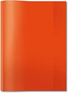 HERMA Heftschoner, DIN A4, aus PP, transparent-rot