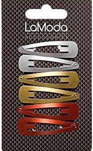 Lamoda metallizzato elastico fermaglio 4 colori per confezione Multipack di 6