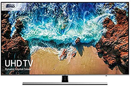 "Samsung UE49NU8000T 49"" 4K Ultra HD Smart TV Wi-Fi Nero, Argento"