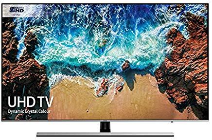 "Samsung UE49NU8000T 49"" 4K Ultra HD Smart TV Wi-Fi Nero, Argento"