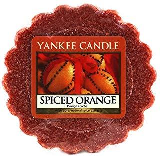 YANKEE CANDLE Spiced Orange Tart da Fondere, Cera, Arancione, 1.9x5.7x5.5 cm