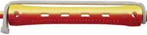 Comair - Bigodini per permanente, bicolore, 12 pz, corti, in gomma