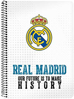 Real Madrid 2018 Organizer borsa, 22 cm, Multicolore (Multicolor)