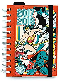 Grupo Erik Editores DC Comic Originals - Agenda scolastica giornaliera 2017-2018