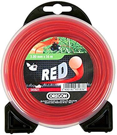 Oregon 552691 Filo da 2.7, Tondo, 12 m, Rosso, 22x20x5 cm