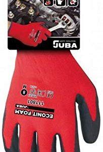 Juba H111801-10-Guanti in Nylon e Fibra, in Lycra