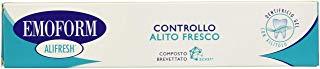 EMOFORM Alifresh - Dentifricio Controllo alito fresco, 75 ml