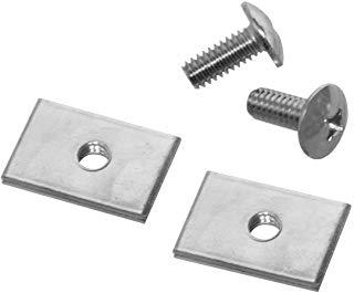 Akro-Mils, TVHDWR, Hardware TiltView inclinabile per lo stoccaggio orizzontale, plastica