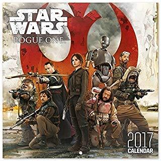 Grupo Erik Editores Star Wars Rogue One - Calendario 2017, 30 x 30 cm