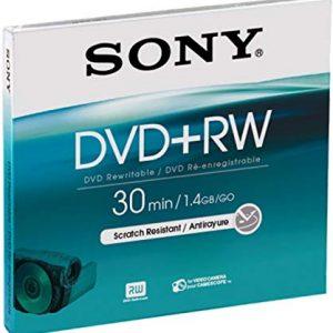 Sony Dvd+rw 1.4GB DPW30B 8CM - Confezione da 1