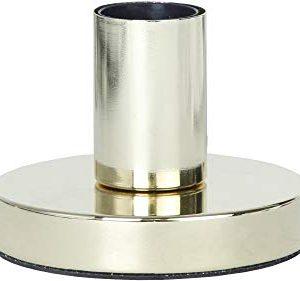 Lampada da terra &ldquo,Glans&rdquo,, attacco E27, colore: Ottone, con interruttore ca. 8,5 cm x 12 cm (lampadina non inclusa)