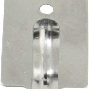 Cogex, 85577, Gancio adesivo, cromo
