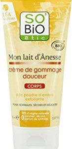 SO'BiO ETIC cura del viso e del corpo mio asino Latte Crema Gentle Scrub 150 ml