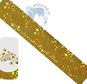 Trasferimento Schermo stelle oro ologramma