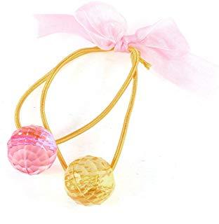 Plastica color perla aspetti decorativi fascia per capelli supporto del ponytail
