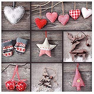 Susy Card 11388527 biglietto d' auguri di Natale, effetto 3d, motivo: Setzkasten