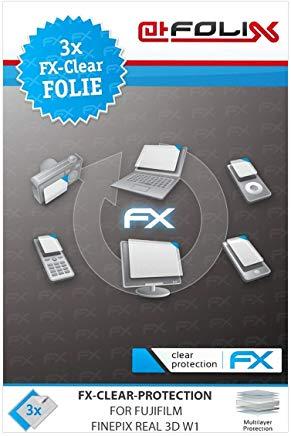 atFoliX FX-Clear, Fujifilm FinePix REAL 3D W1 Fujifilm FinePix REAL 3D W1 3pezzo(i)