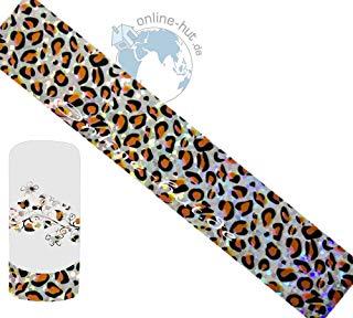 Trasferimento Schermo Leopard di sfondo argento iridato 2