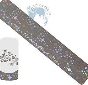 Trasferimento Schermo stelle di sfondo argento iridato