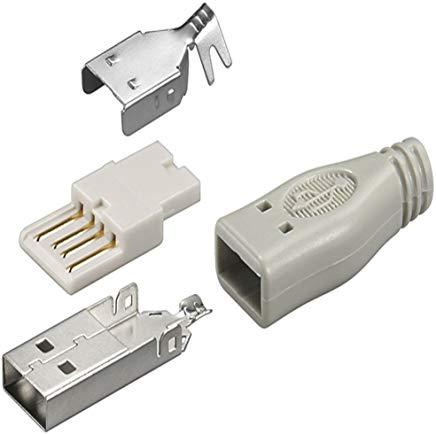 Goobay 12025 Spina USB A - versione a saldare