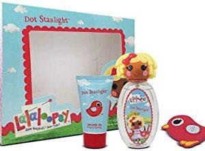 Lalaloopsy DOT Starlight cute Coffret Eau de Toilette spray Trio set regalo per lei