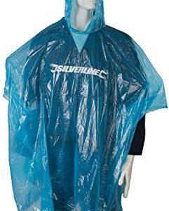 Silverline 613749 Poncho Impermeabile, Blu