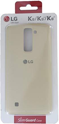LG K8 Cover Snap, Bianco