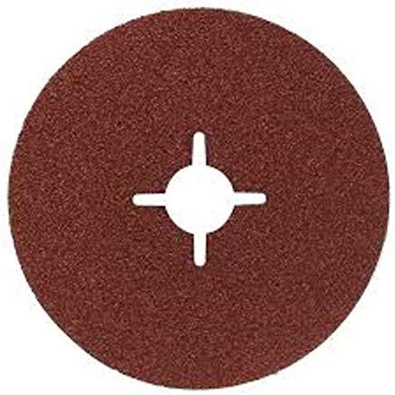 Bosch 2 608 605 lijador 469-Disco in fibra per smerigliatrice angolare, 115 mm-corindone, 22 mm, 120 (Confezione da 1)