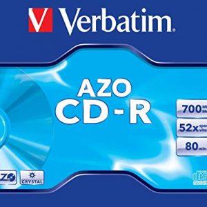 Verbatim CD-R 80MIN Datalife - Confezione da 1