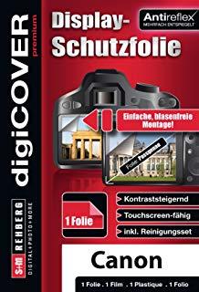 digiCover Pellicola Prottetiva per Canon PowerShot A2300 and A2400 IS