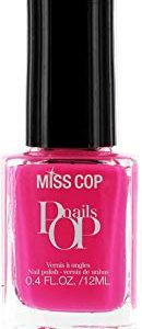 La signorina Cop Nails Nail Polish Pop Fuchsia 12 ml - Set di 2